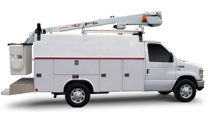 Telecom Solutions by Reading Truck Body