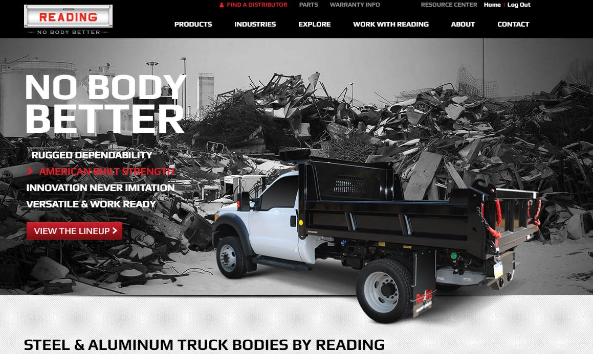 Reading Truck Body | Service Truck Bodies That Work Hard