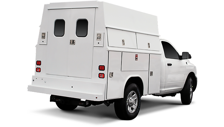 Reading Utility Body >> Enclosed Van Service Bodies Reading Truck Body