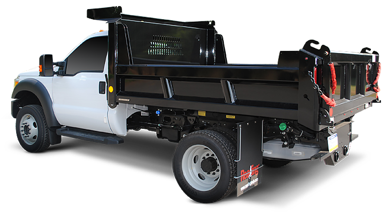 Dump Body Parts : Marauder standard duty dump body reading truck