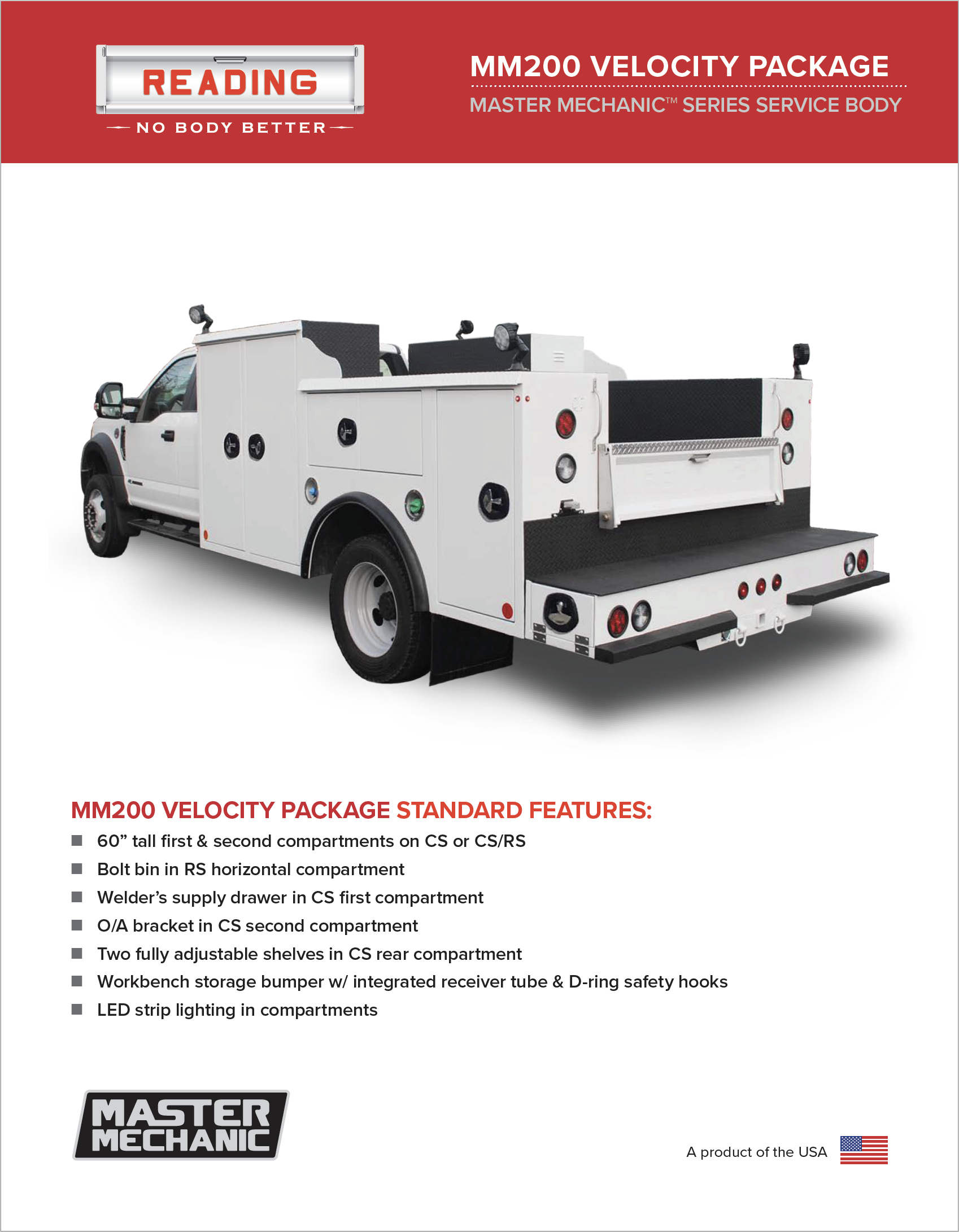 MM200 Velocity Package Product Literature