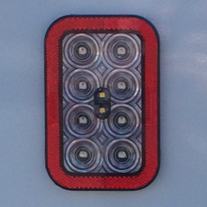 Rectangular Tail Lights