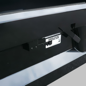 Single-Lever Drop-Down Tailgate Release