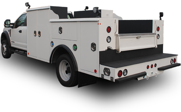 The robust 200-Series HD Service body provides the ample storage and increased capabilities to efficiently handle the biggest jobs.