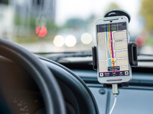 Using Hands Free Navigation in Car