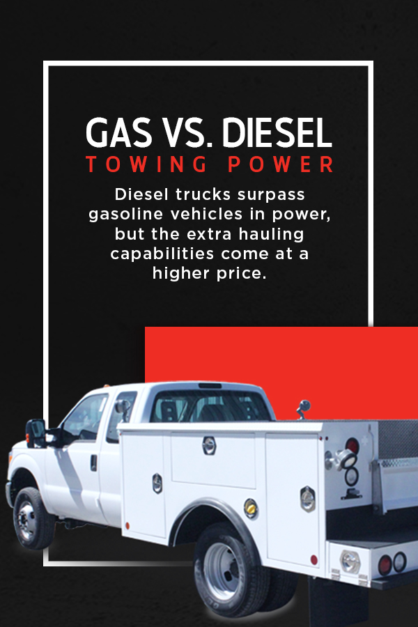 Gas Vs Diesel Towing Power