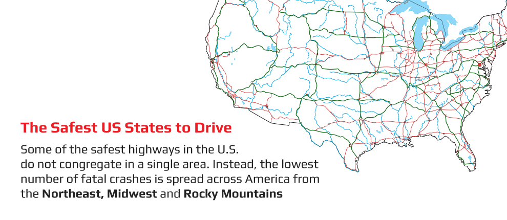 Safest US States to Drive In